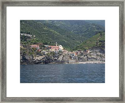View Of The Vernazza, La Spezia Framed Print by Panoramic Images