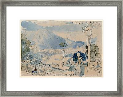 View Of Trent Framed Print by Mountain Dreams