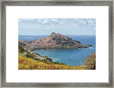 View On Castelsardo Framed Print