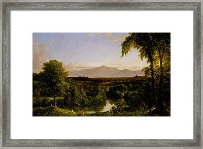 View On The Catskill Early Autumn Framed Print