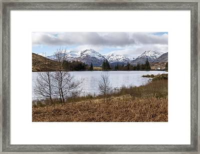 View Over Loch Arklet Framed Print by Jeremy Lavender Photography