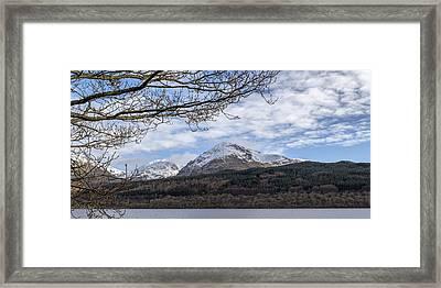 View Over Loch Lomond Framed Print by Jeremy Lavender Photography