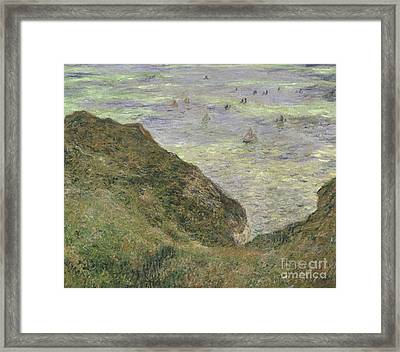 View Over The Sea, 1882  Framed Print by Claude Monet