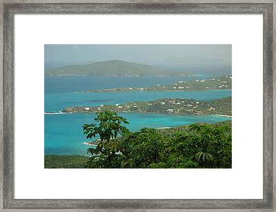 Framed Print featuring the photograph View Paradise by Lori Mellen-Pagliaro