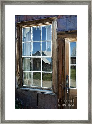 View To A Different Time Framed Print by Sandra Bronstein