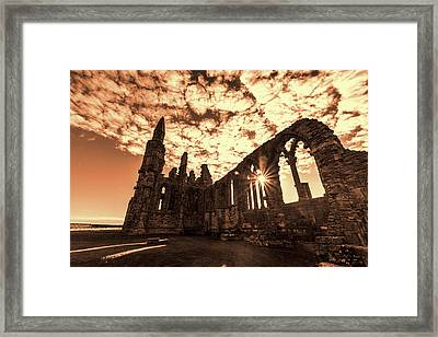 Framed Print featuring the photograph View To A Thrill by Anthony Baatz