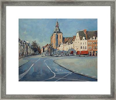 View To Boschstraat Maastricht Framed Print