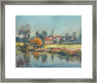View To Elsloo Framed Print
