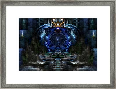 View To Eternity Framed Print