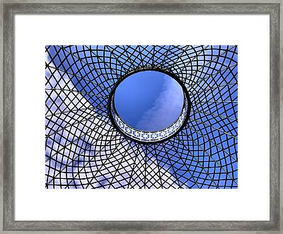 View To Heaven Framed Print