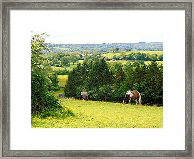 View To Kill For Framed Print by Linda Corby