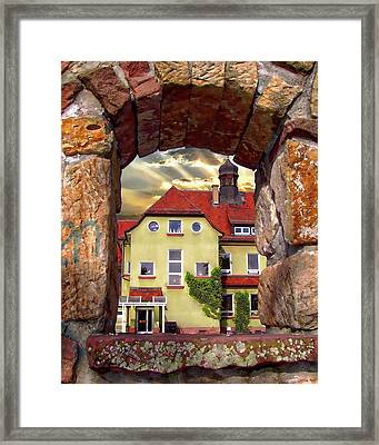 View To The Past Framed Print
