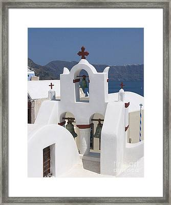 View To The Sea Framed Print by Sandra Bronstein