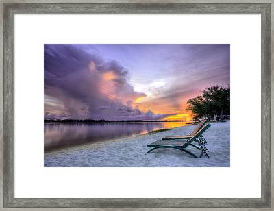 View To The Show Framed Print by JC Findley