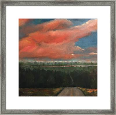 View To Yell County Framed Print