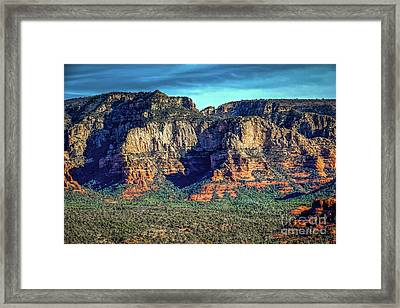 View Toward Lee Mountain Framed Print by Jon Burch Photography