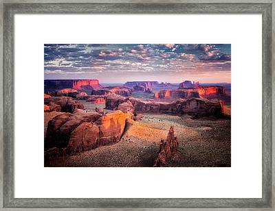 Views From The Edge  Framed Print