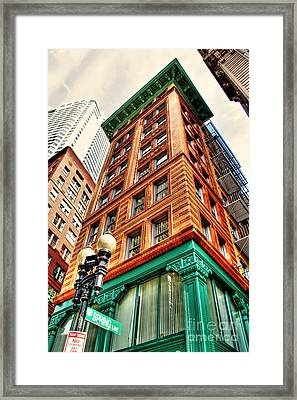 Views Of Boston Framed Print