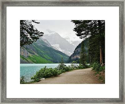 Framed Print featuring the photograph Views Of Louise by Al Fritz