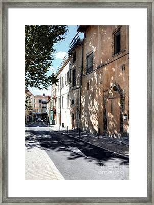 Views Of Vienne France 2 Framed Print