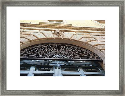Views On Via Di Pasquino Framed Print by JAMART Photography