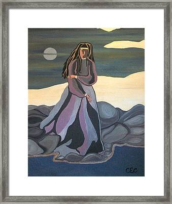Framed Print featuring the painting Vigil by Carolyn Cable
