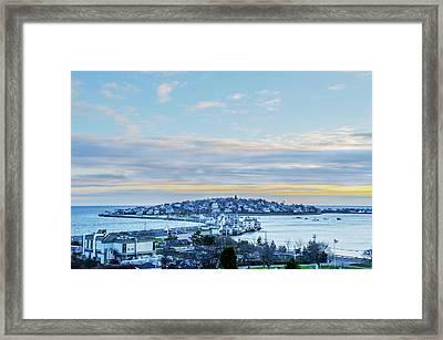 Village Of Hull Massachusetts Framed Print by Bill Cannon