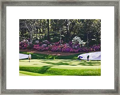 Vijay At Amen Corner Framed Print by David Bearden