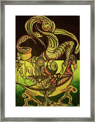 Viking Framed Print by Ben Christianson