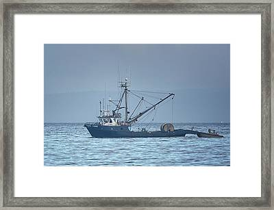 Framed Print featuring the photograph Viking Fisher 3 by Randy Hall