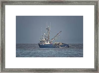 Framed Print featuring the photograph Viking Fisher 4 by Randy Hall