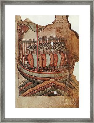 Viking Invasion 919 Framed Print by Granger