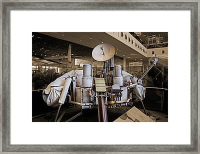 Viking Lander Framed Print by Betsy Knapp