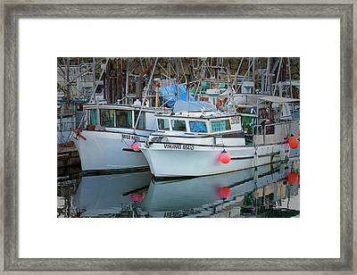 Framed Print featuring the photograph Viking Maid by Randy Hall