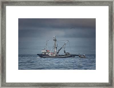 Viking Tide Framed Print