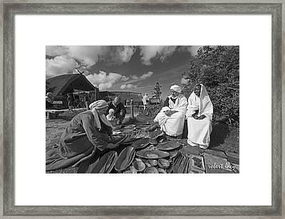 Viking Traders Framed Print