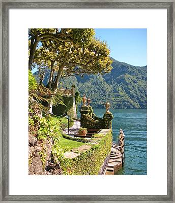 Villa Balbianello Marina Framed Print by Marilyn Dunlap