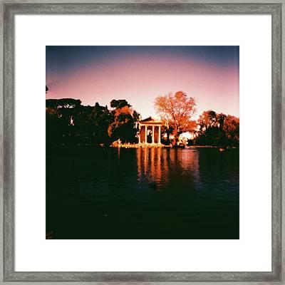 Villa Borghesse Rome Framed Print