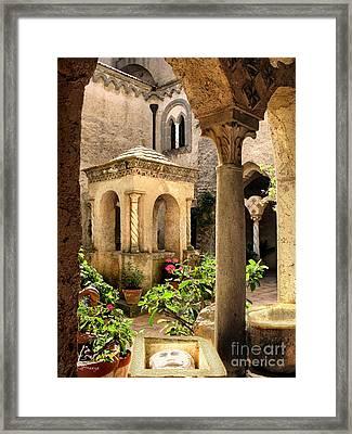 Villa Cimbrone. Ravello Framed Print