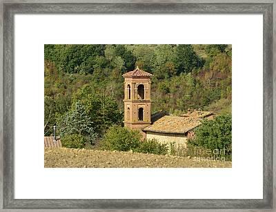 Villa In Tuscany Italy Framed Print by DejaVu Designs