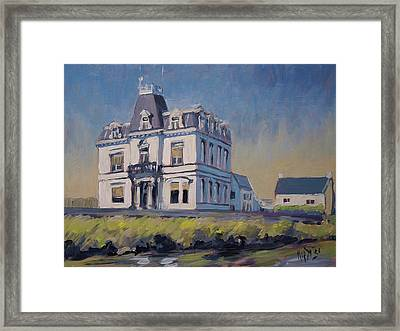 Villa Lhoest Framed Print
