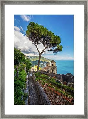 Villa Rufolo Framed Print by Inge Johnsson