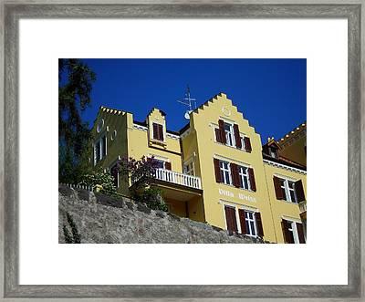 Villa Weiss Framed Print by Juergen Weiss