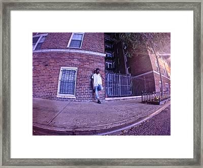 Village After Midnight Framed Print