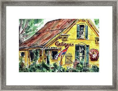 Village Antiques Framed Print by Tim Ross