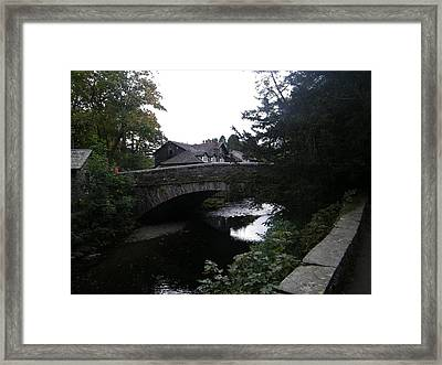 Village Bridge Framed Print