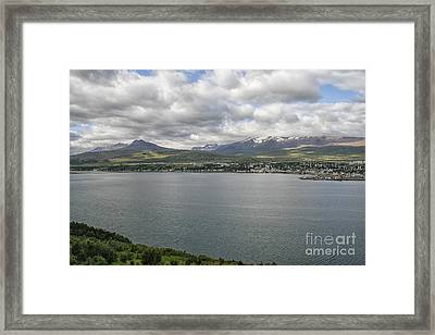 Village In Iceland Framed Print by Patricia Hofmeester