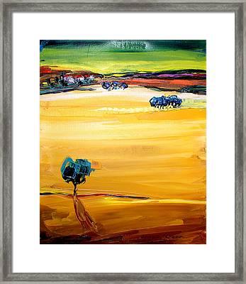 Village  Framed Print by Maya Green