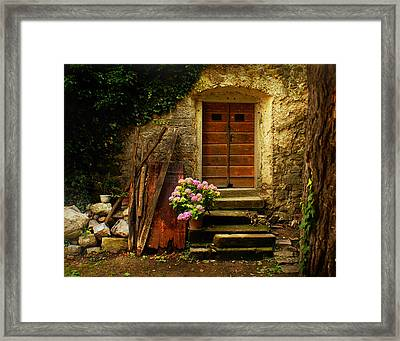 Village Of Hum Croatia Framed Print by Don Wolf