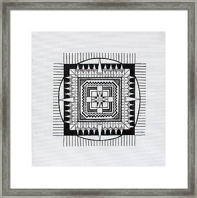 Village Framed Print